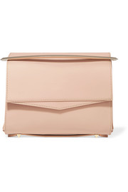 Boyd matte-leather clutch