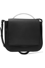 Pepper Saddle matte-leather shoulder bag