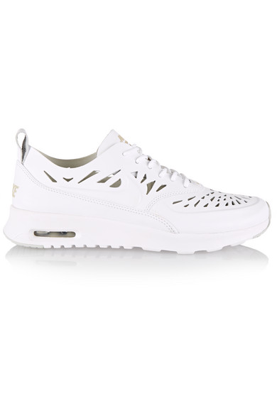 Nike Air Max Thea Jolie Leather Sneakers in Black Lyst