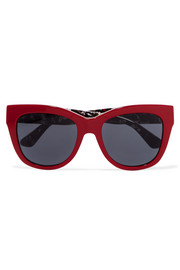 Dolce & Gabbana Cat-eye acetate sunglasses