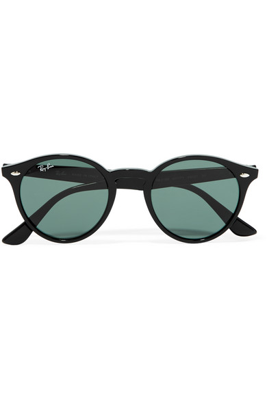 Ray Ban Round Frame Sunglasses : Ray-Ban Round-frame acetate sunglasses NET-A-PORTER.COM
