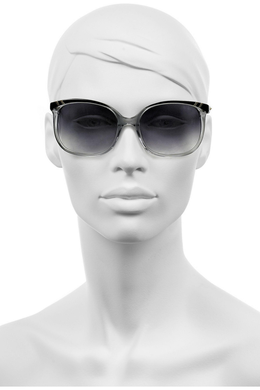 Chloé Belladone square-frame acetate sunglasses