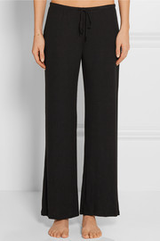 Eberjey Hailey ribbed stretch-modal pajama pants