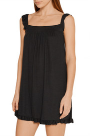 Eberjey Hailey ribbed stretch-modal nightdress