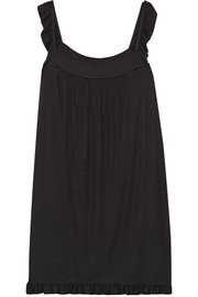 Hailey ribbed stretch-modal nightdress