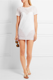 La Perla Sweetness broderie anglaise coverup