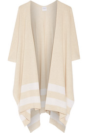 Striped cashmere wrap