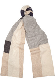 Madeleine Thompson Color-block cashmere scarf