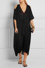 Holly cutout georgette kaftan