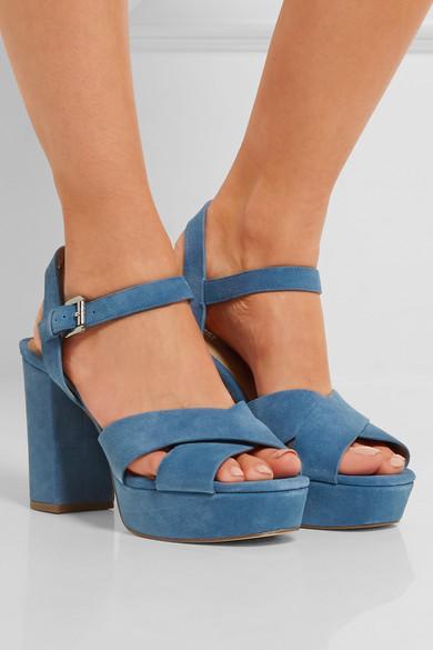 3fa8db08fb4 Divia suede platform sandals