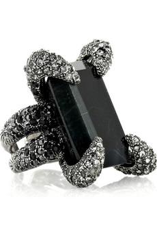 Roberto Cavalli|Spider Swarovski crystal ring|NET-A-PORTER.COM from net-a-porter.com