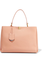 Le Dix Cabas textured-leather tote