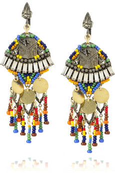 Erickson Beamon Bead and Swarovski-embellished earrings