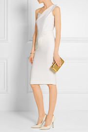 Roland Mouret Pernice one-shoulder wool-crepe dress