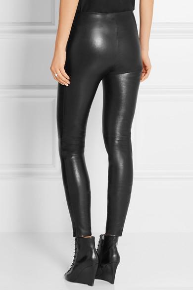 255df3b4af0772 Balenciaga | Stretch-leather leggings | NET-A-PORTER.COM