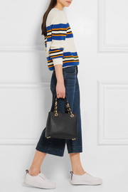 MICHAEL Michael Kors Cynthia small textured-leather tote
