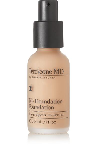 No Foundation Foundation Broad Spectrum Spf 30 - No 2 Light To Medium, Beige