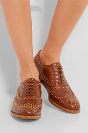 Church's The Burwood Met studded leather brogues