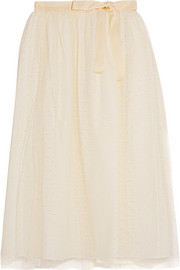 Point d'esprit tulle skirt
