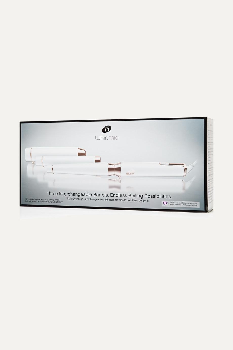T3 Whirl Trio Styling Wand - UK 3-Pin Plug