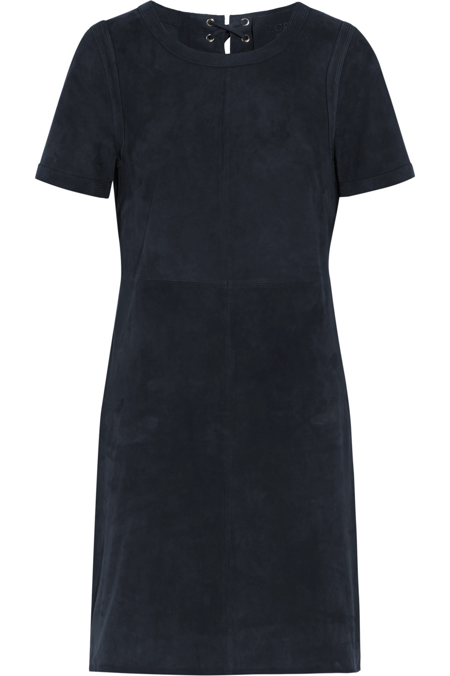 J.Crew Collection Dayton Suede Mini Dress, Navy, Women's, Size: 4