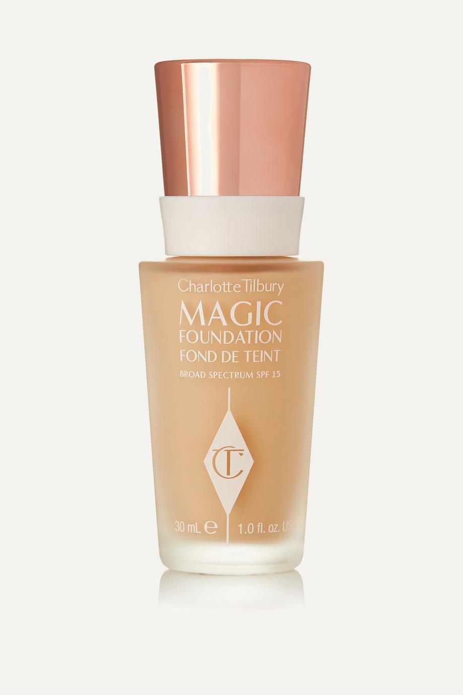 Charlotte Tilbury Fond de teint zéro défaut tenue longue durée Magic Foundation SPF 15, Shade 3.5, 30 ml