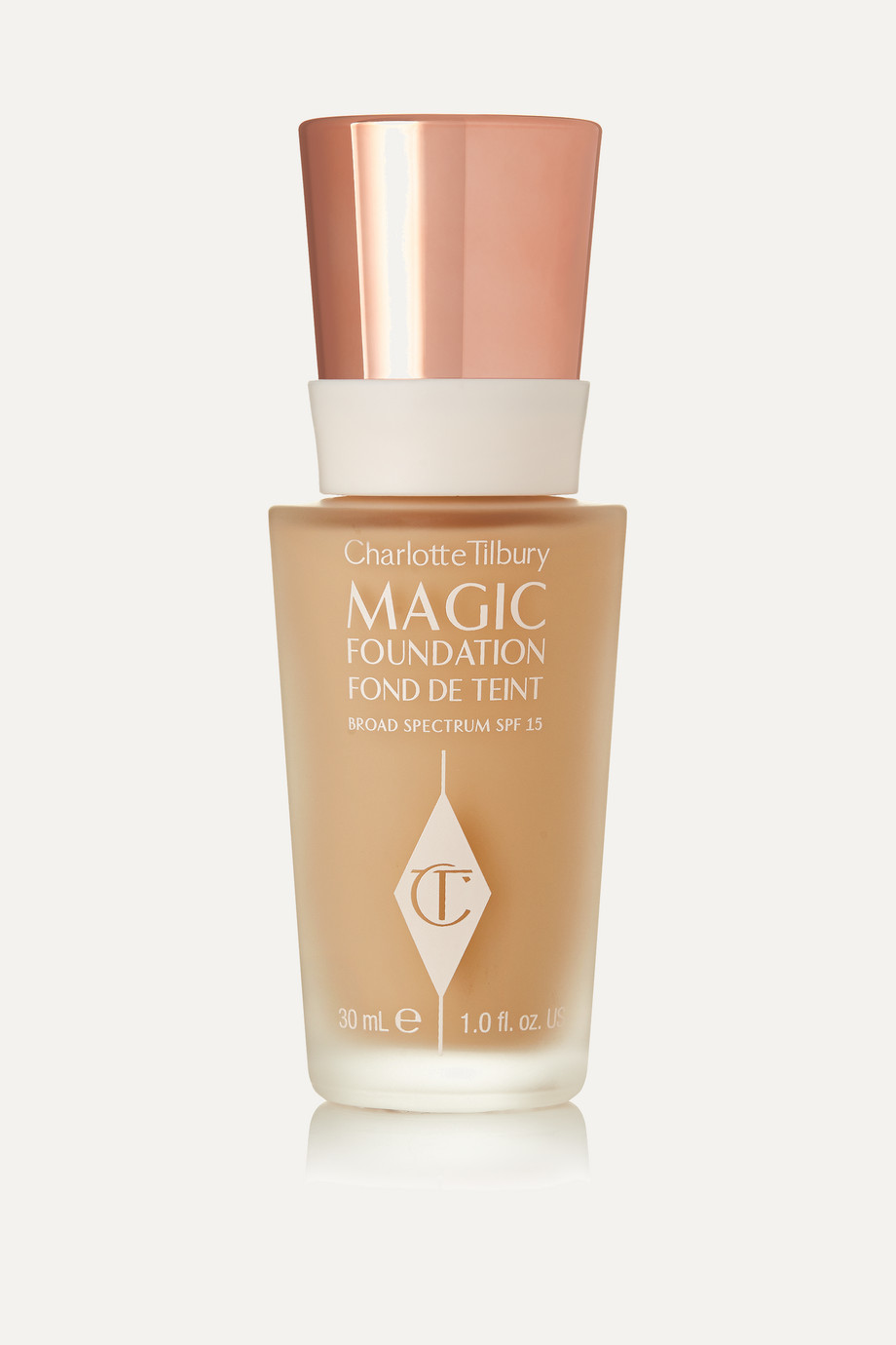 Charlotte Tilbury Magic Foundation Flawless Long-Lasting Coverage LSF 15 – Shade 4, 30 ml – Foundation