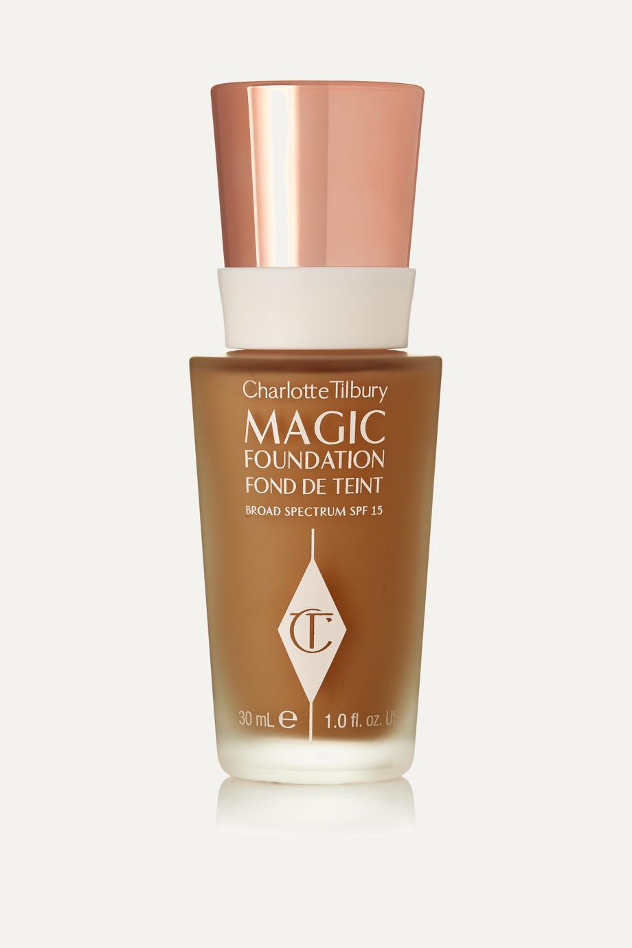 Charlotte Tilbury Fond de teint zéro défaut tenue longue durée Magic Foundation SPF 15, Shade 9.5, 30 ml