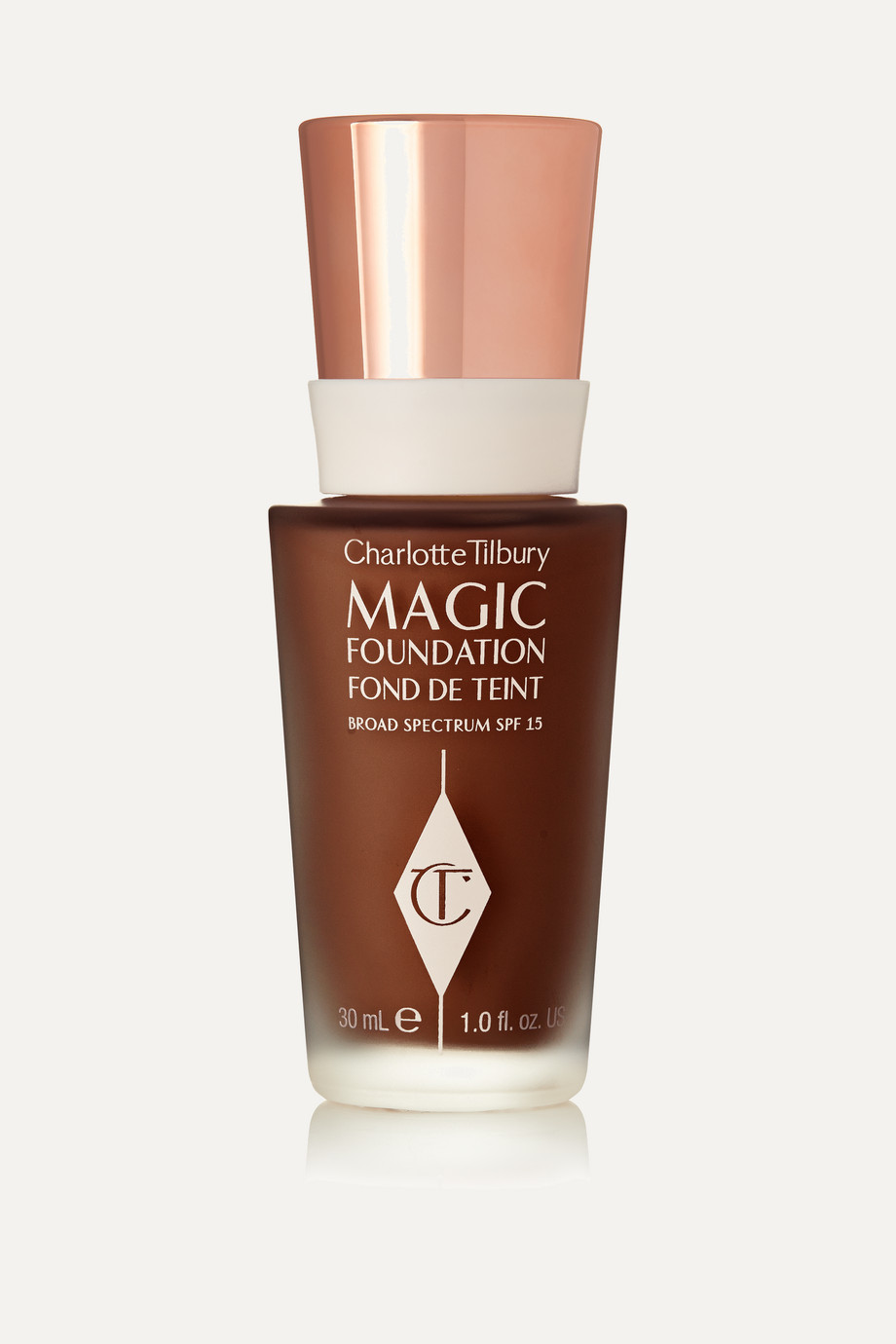 Charlotte Tilbury Magic Foundation Flawless Long-Lasting Coverage LSF 15 – Shade 12, 30 ml – Foundation