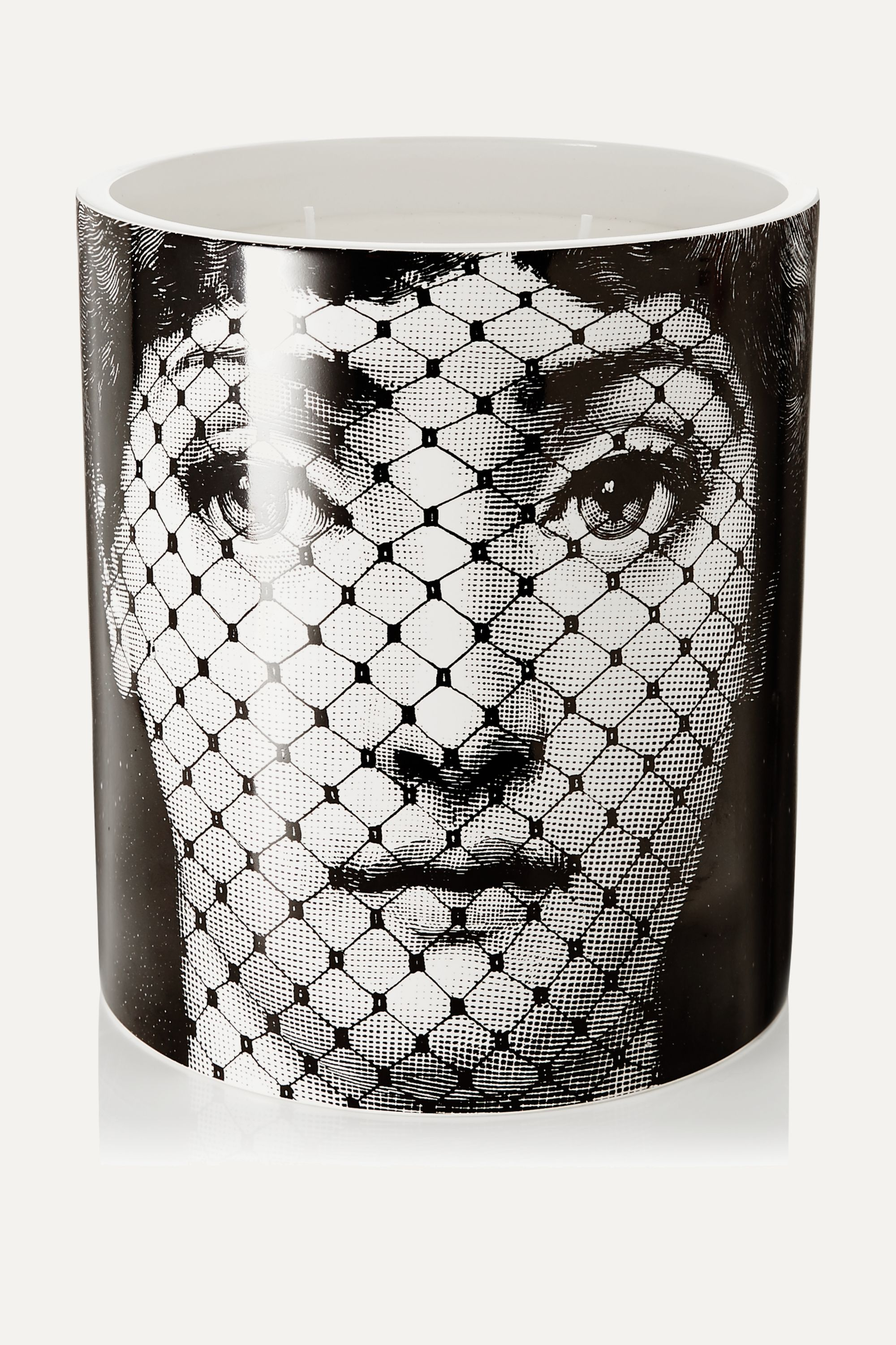 White Burlesque Scented Candle 1 9kg Fornasetti Net A Porter