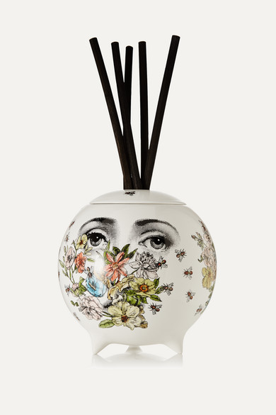 FORNASETTI Flora Diffusing Sphere in White