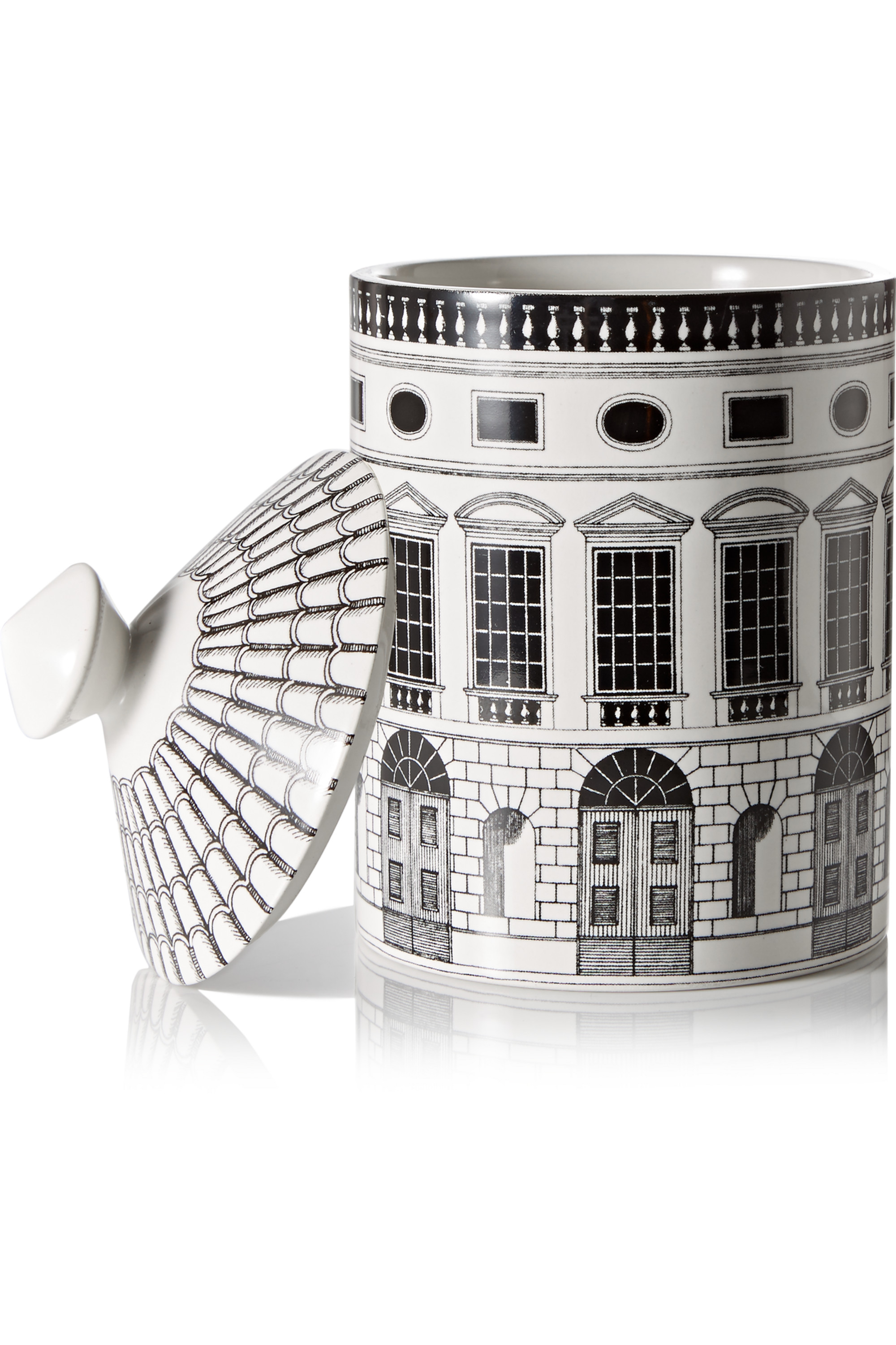 Fornasetti Architettura Thyme, Lavender and Cedarwood scented candle, 300g