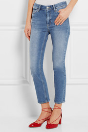 MiH Jeans Niki cropped mid-rise skinny jeans