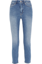 Niki cropped mid-rise skinny jeans
