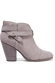 Harrow nubuck ankle boots