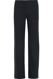 Stretch-jersey wide-leg pants