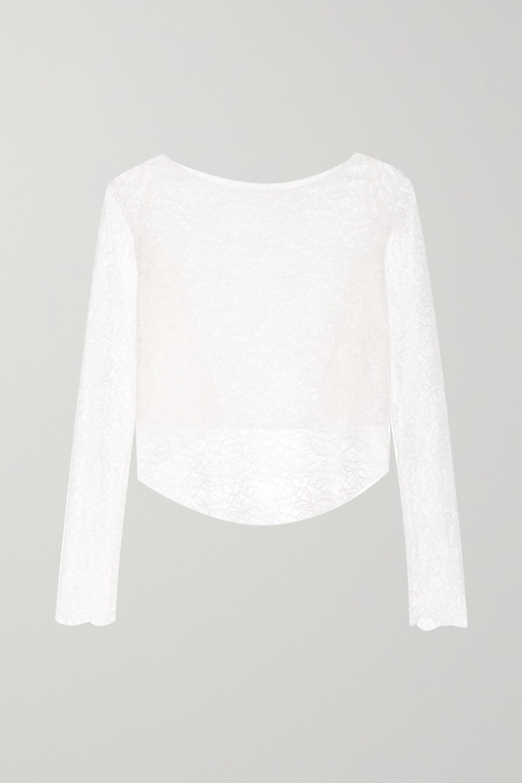 Rime Arodaky Perry asymmetric lace top