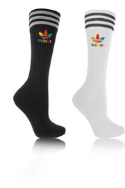 + Pharrell Williams Dear Baes set of two cotton-blend knee socks