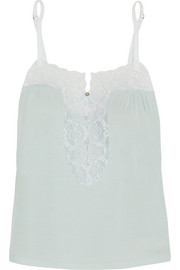 Eberjey I Do lace-trimmed modal camisole