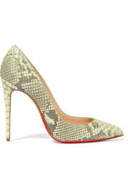 Pigalle Follies 100 python pumps
