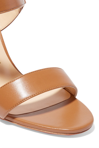 Christian Louboutin | Sova 85 leather sandals | NET-A-PORTER.COM