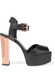 Giuseppe Zanotti Leather platform sandals