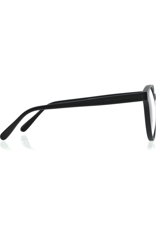 Prism Round-frame acetate glasses