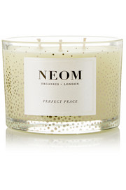 Perfect Peace Pine, Myrrh and Lime Peel scented candle, 380g