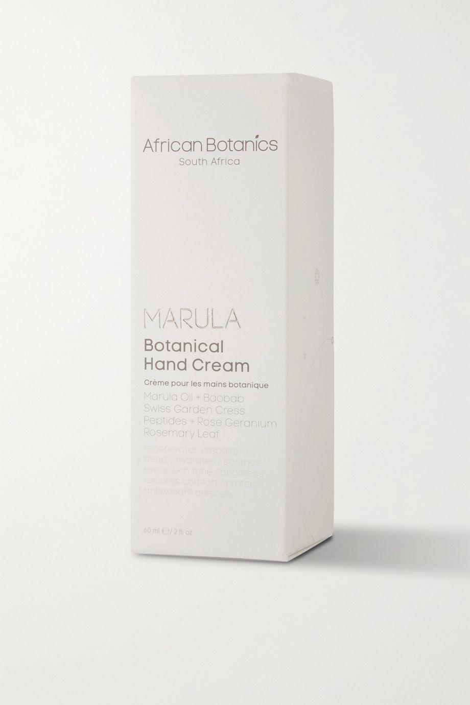 African Botanics Marula Botanical Hand Cream, 60ml