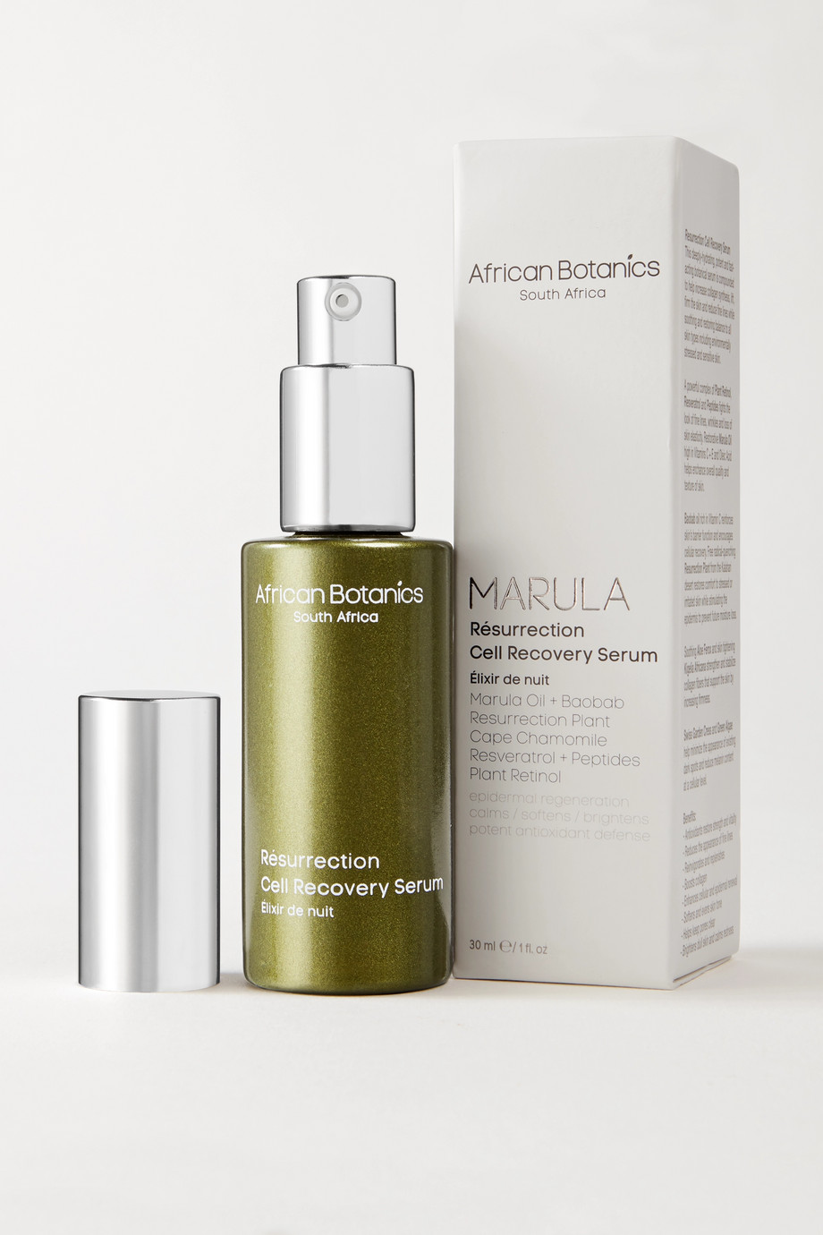 African Botanics Marula Résurrection Cell Recovery Serum, 30ml