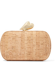 Love Minaudière cork clutch