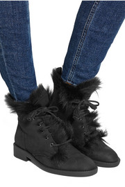 Pedro Garcia Kaede shearling-lined suede boots