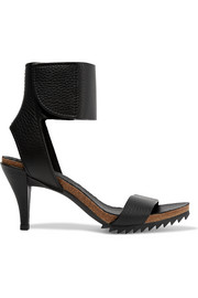 Pedro Garcia Wendel textured-leather sandals