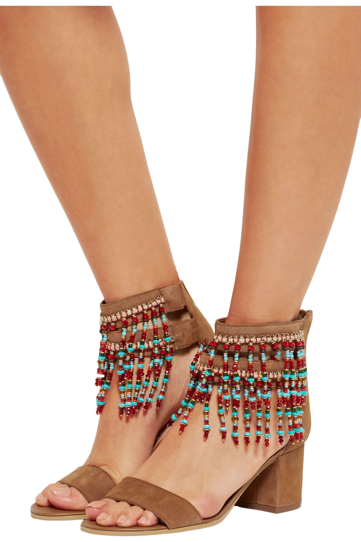 Sam Edelman Sibel embellished suede sandals